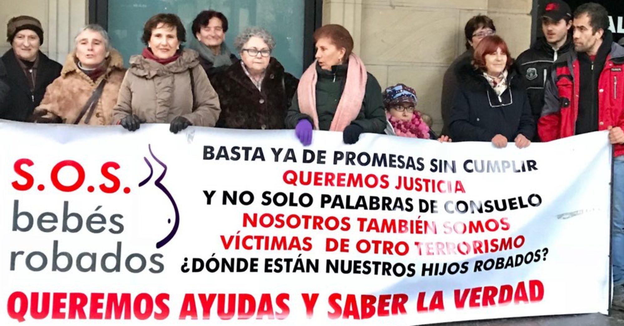 """Blog de la Asociación """"S.O.S. Bebés Robados /  Lapurtutako Haurrak Euskadi / Gipuzkoa """"."""